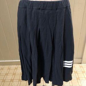 Y-3 YOHJI YAMAMOTO sz M Faded Black Skirt Knit